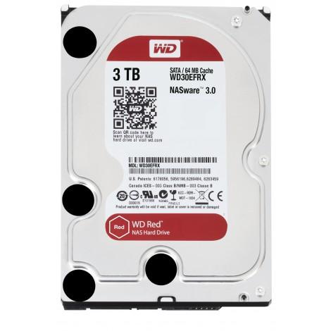 Western Digital WD30EFAX 3 TB RED 3.5 SATA600 64MB NAS-Versie