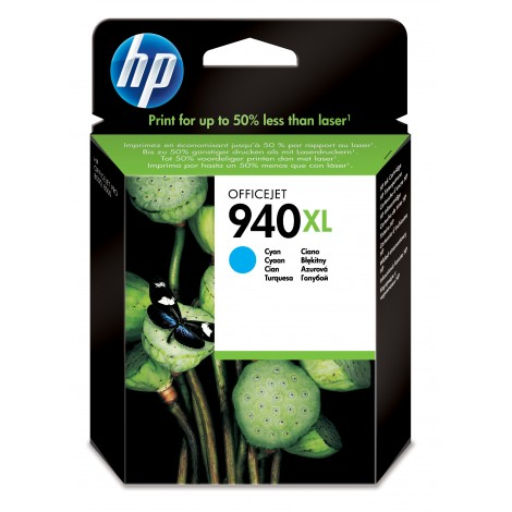 HP C4907A Inkpatroon (940XL) Cyan