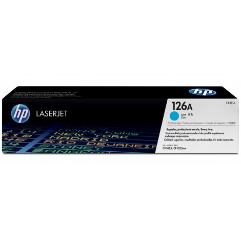 HP CE311A Tonercartridge Cyan