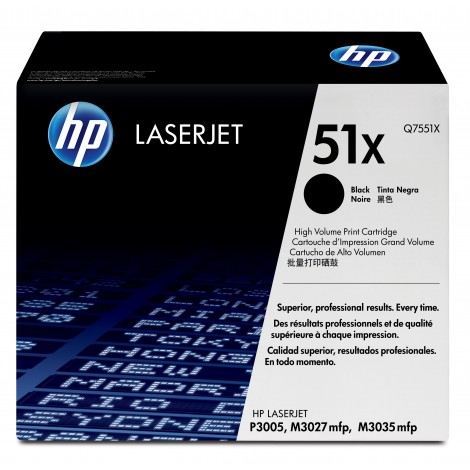 HP Q7551X Tonercartridge (51X)
