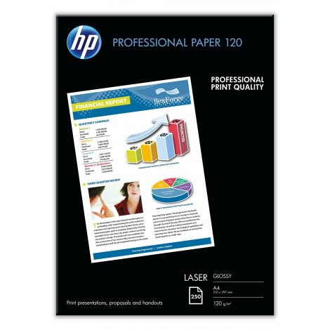 HP CG964A A4 Professional Glossy Laser Photo Paper 120gr (250 vel)