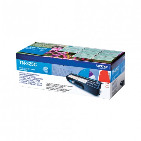 Brother TN-325C Toner Cyan HC