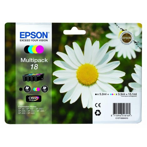 Epson T1806 Multipack (T1801/T1802/T1803/T1804)