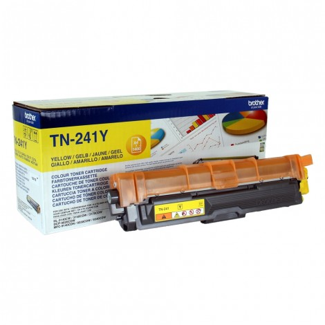 Brother TN-241Y Toner Yellow