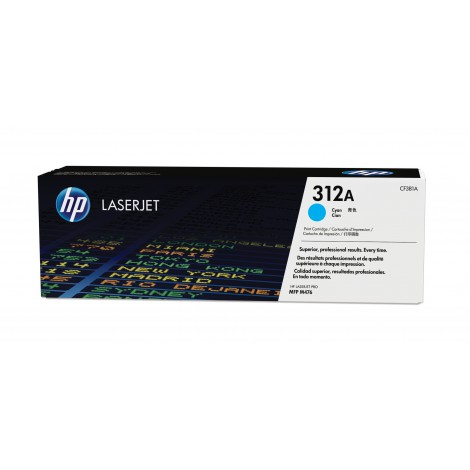 HP CF381A Toner Cartridge Cyan
