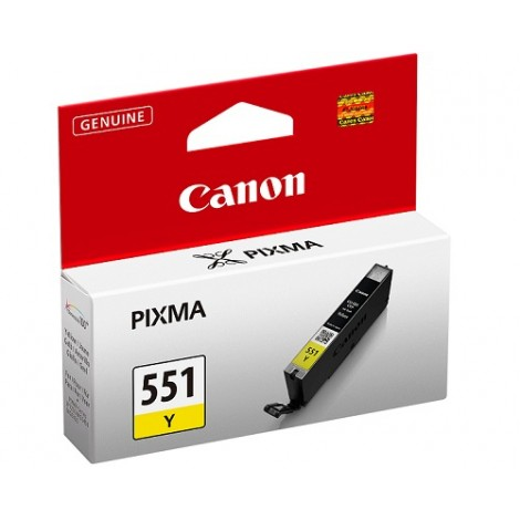 Canon CLI-551Y Inktpatroon Yellow