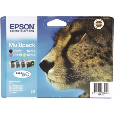 Epson T0715 Multipack (T0711/T0712/T0713/T0714)