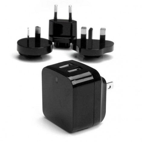 StarTech USB2PACBK Duo Wall Charger USB 3.4A