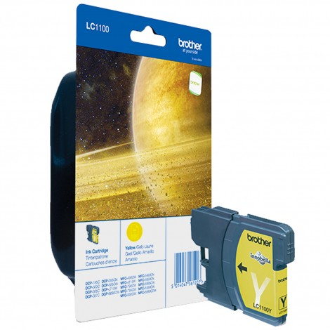 Brother LC-1100Y Yellow inktcartridge