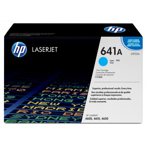 HP C9721A Tonercartridge Cyan