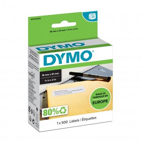 Dymo 11355 Adres Etiket 19x51mm 1 rol (500 etiketten)