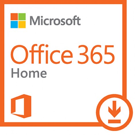 Microsoft Office 365 Home (Abonnement voor 1 jaar, 5 Windows/Mac/Tablet)