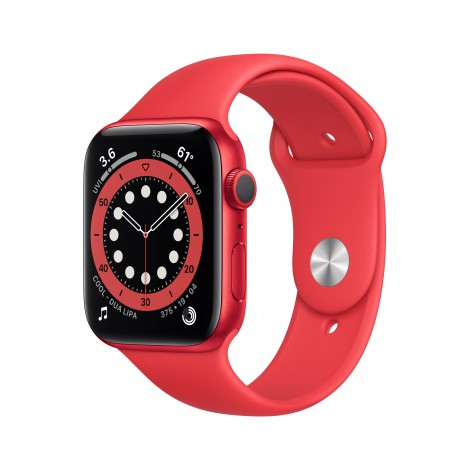 Apple Watch Series 6 44mm Rood