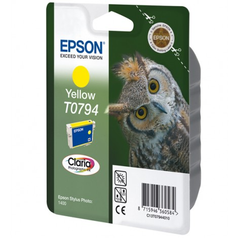 Epson T0794 Inkpatroon (Yellow)