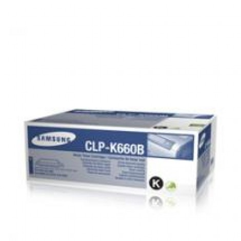Samsung CLP-K660 Tonercartridge Black High Yield 5K