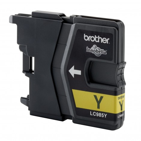 Brother LC-985Y Yellow inktcartridge