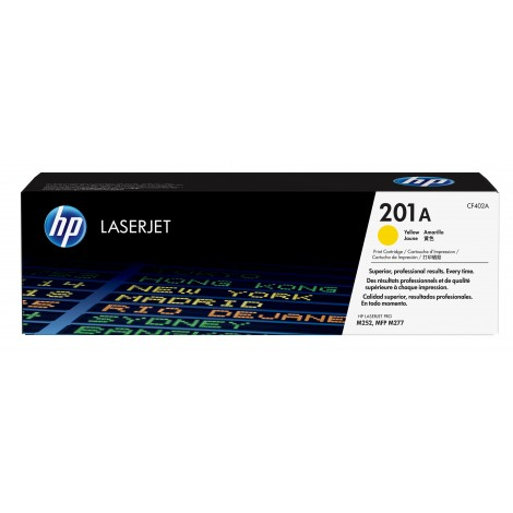 HP CF402A Toner Cartridge Yellow (201A)