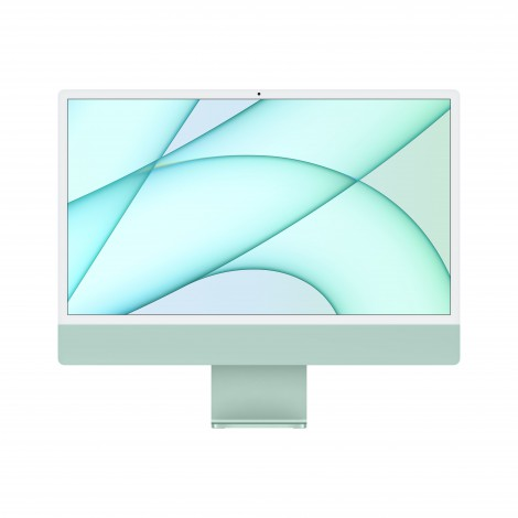 "Apple iMac 61 cm (24"") 4480 x 2520 Pixels Apple M 8 GB 512 GB SSD Alles-in-één-pc macOS Big Sur Wi-Fi 6 (802.11ax) Groen"