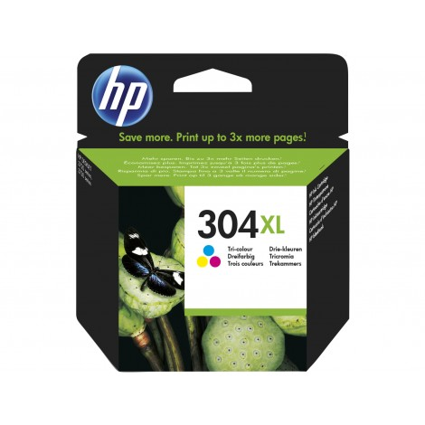 HP N9K07AE (304XL) Color Cartridge