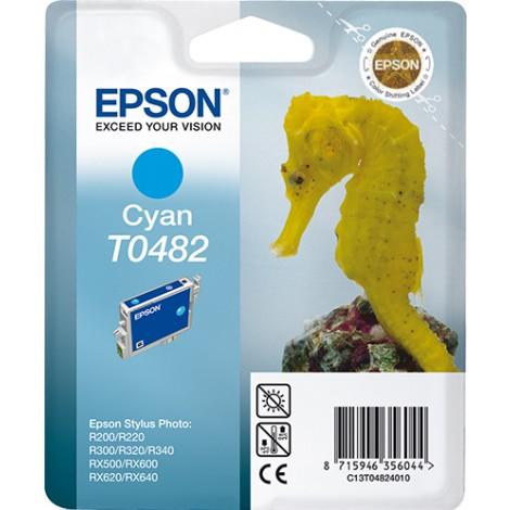 Epson T0482 Inkpatroon (Cyan)