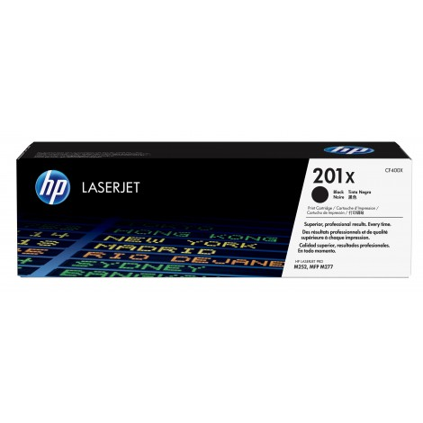 HP CF400X Toner Cartridge Black (201X)
