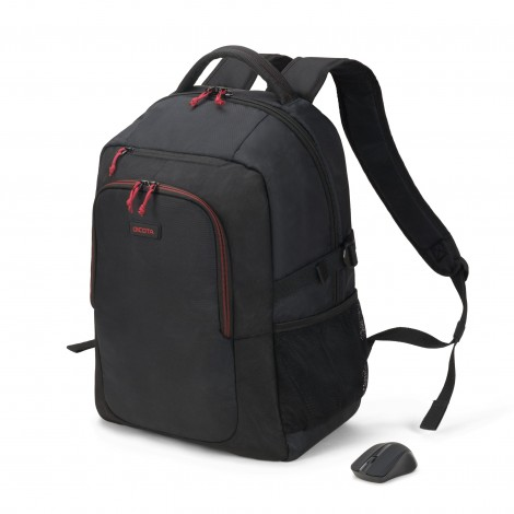 Dicota D31719 15.6 Backpack Gain Wireless Mouse Kit
