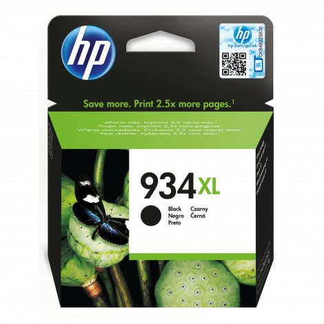 HP C2P23AE Inkpatroon (934XL) Zwart