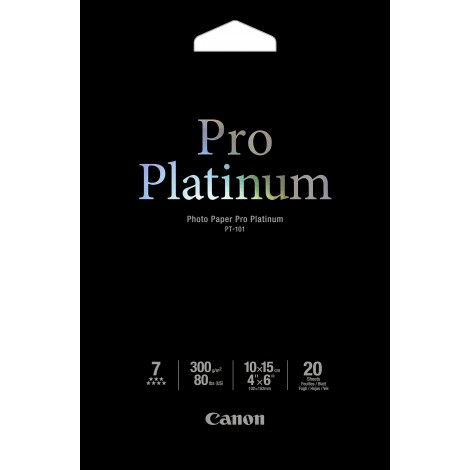 Canon PT-101 10x15 Photo Paper Pro Platinum 300gr (20 vel)