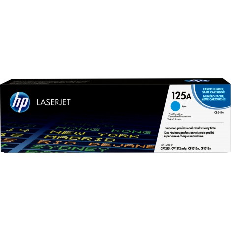 HP CB541A Toner Cartridge Cyan