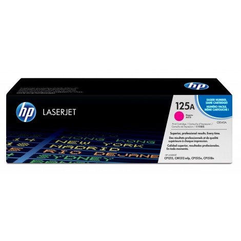 HP CB543A Toner Cartridge Magenta