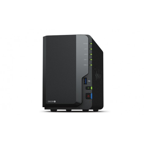Synology Disk Station DS220+ (2 Bay) 2.ghz Dual-core 2GB