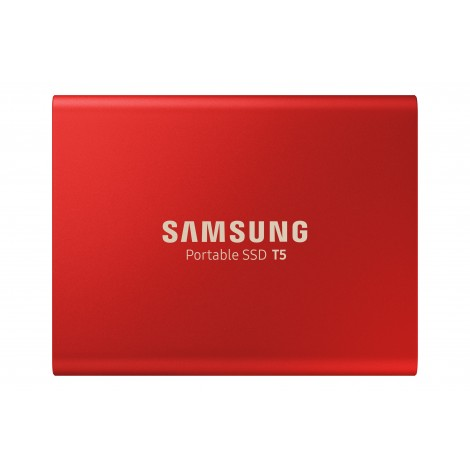 Samsung T5 500GB USB3.1 Externe SSD Red