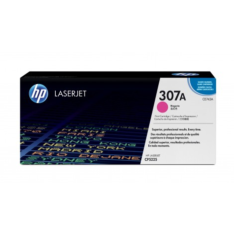HP CE743A Tonercartridge Magenta