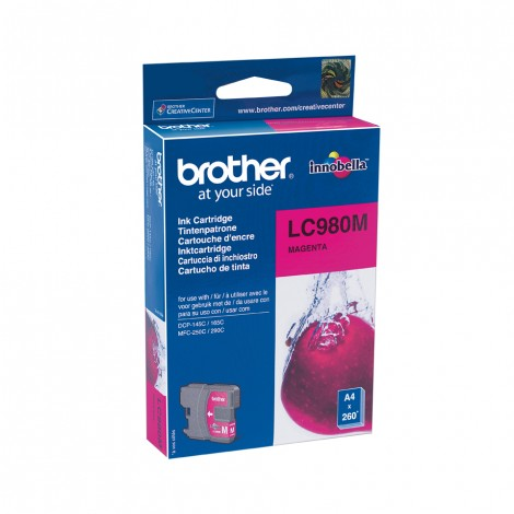 Brother LC-980M inktcartridge