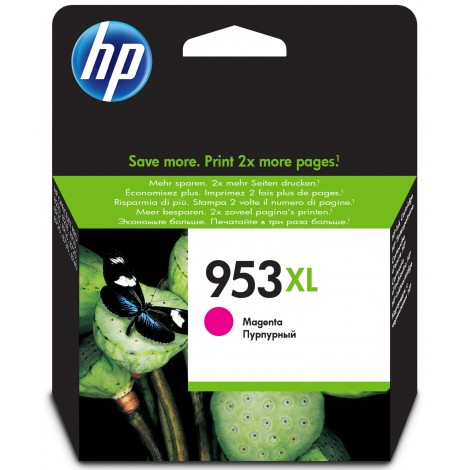 HP F6U17AE Inkpatroon (953XL) Magenta