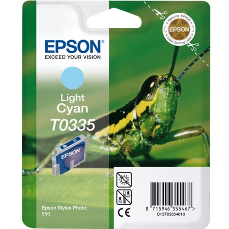 Epson T0335 Inktpatroon (Light Cyan)