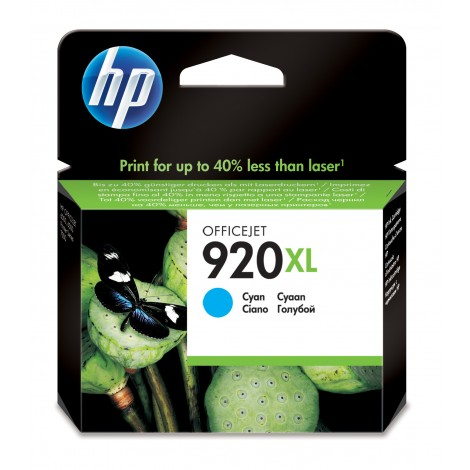 HP CD972A Inkpatroon (920XL) Cyan