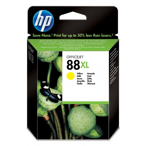 HP C9393A Inkpatroon (88XL) Yellow