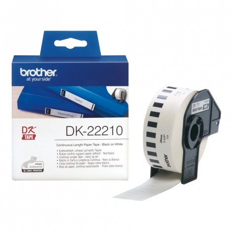 Brother DK-22210 Label 29 mm x 34.8 mm