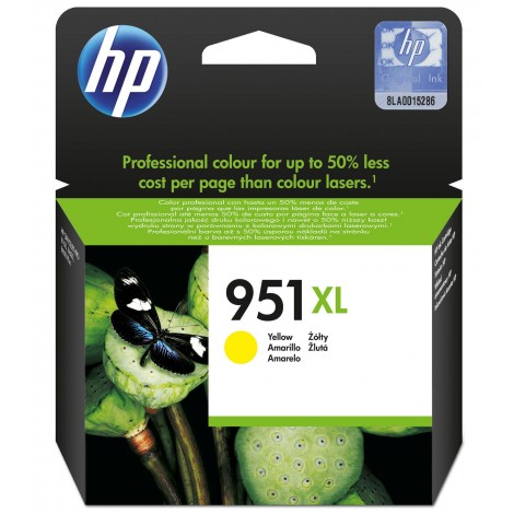 HP CN048AE Inkpatroon (951XL) Yellow