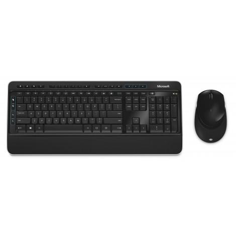 Microsoft Wireless Desktop 3050 toetsenbord RF draadloos + USB QWERTY US International