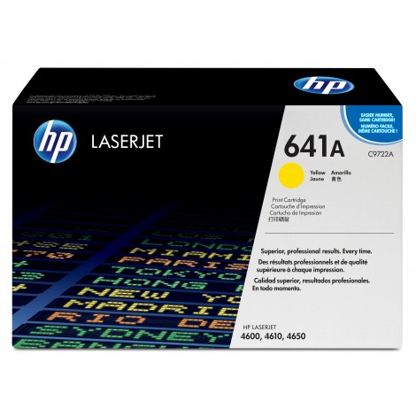 HP C9722A Tonercartridge Yellow