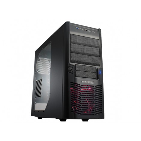 Cooler Master Elite 430 Gaming Systeemkast Black