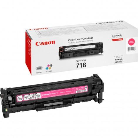 Canon 718M Toner Magenta