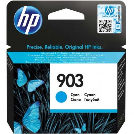 HP T6L87AE Inkpatroon (903) Cyan