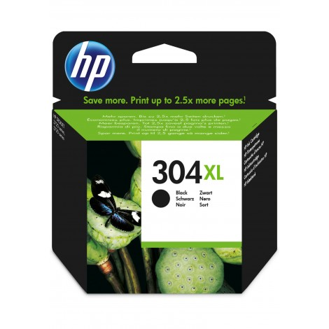 HP N9K08AE (304XL) Black Cartridge