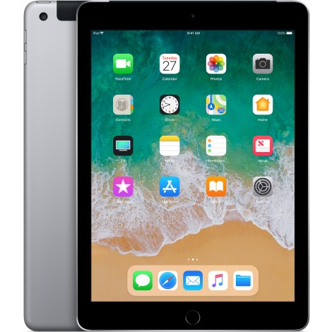 Apple iPad 32GB Wifi + Cellular Spacegrijs (2018)