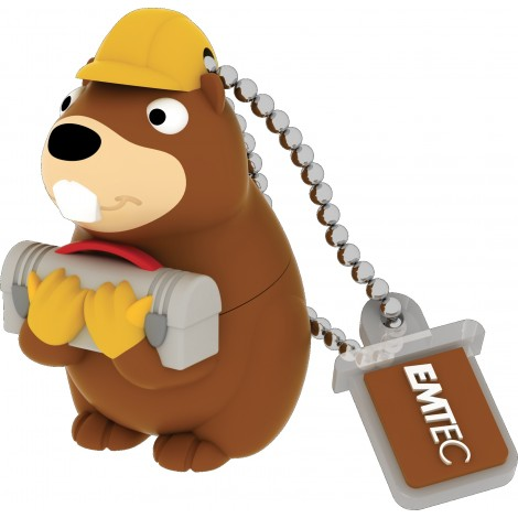 Emtec M338 Building Beaver 8 GB USB