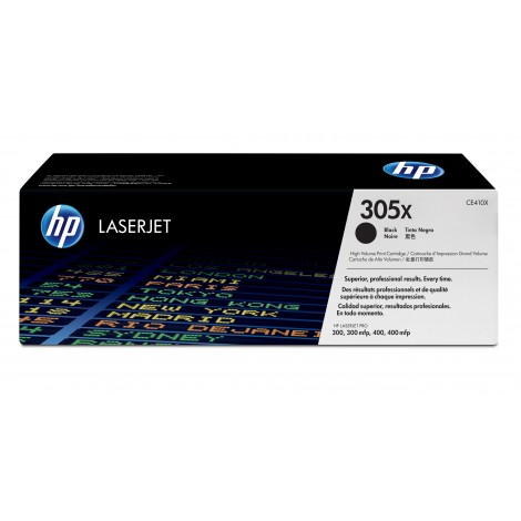 HP CE410X Tonercartridge (305X) Black