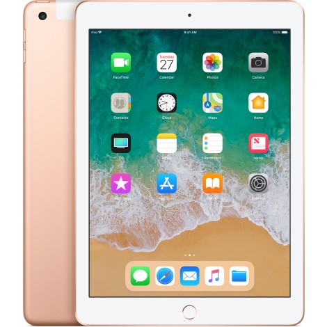 Apple iPad 32GB Wifi + Cellular Goud (2018)